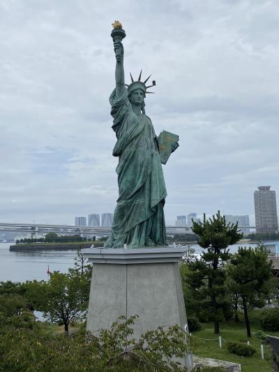 2020,ステイ東京 処暑の日曜日・お台場ぶらり、羽田空港が見える公園で飛行機見物、月島でもんじゃを食す