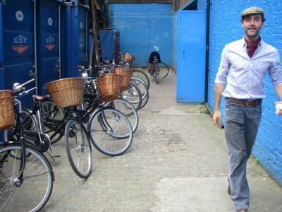 自転車でロンドン観光の半日