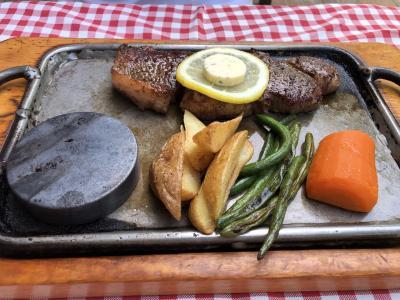 夏の大沼公園と大沼牛ステーキ