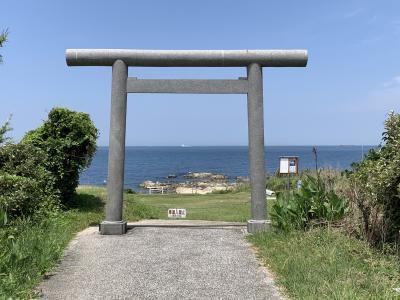 チーバ君の足の先を散策!房総半島の先端!宿は千葉県民割引でお得に宿泊