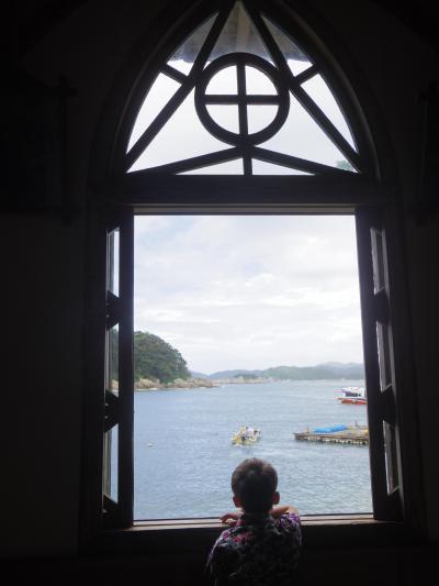 5・7歳連れ夏休み9泊10日、九州の島めぐり:上五島編