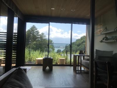 2020年夏休み ふふ河口湖とラビスタ富士河口湖に宿泊 2泊3日の旅 2日目