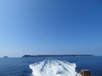 夜行高速バス、列車を乗り継いで新潟、山形へ④日本海に浮かぶ飛島