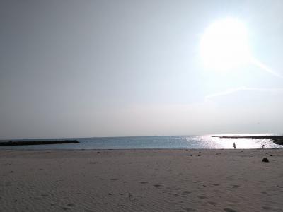 2020 夏の海、県内家族旅行