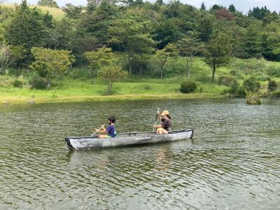 8歳男子と富士山こどもの国へ!ロッジに宿泊して大自然を満喫!【ロッジで宿泊編】