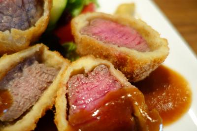 20200829 大阪 フレンチ洋食YOKOOのビフカツ定食