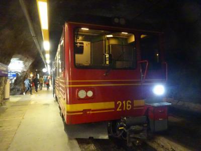 絶景が広がるアルプスの山歩きと鉄道の旅:スイス、リヒテンシュタイン旅行【16】(2019年秋 4日目① 標高3,454m、夢の山岳鉄道)