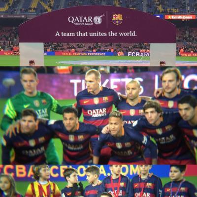 スペインバルセロナ旅行④ FCバルセロナvsビルバオアスレチッククラブ