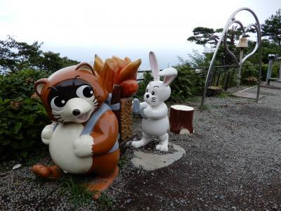クルマで行く(だけの)河口湖★忍野八海、富士山パノラマロープウェイ(カチカチ山)
