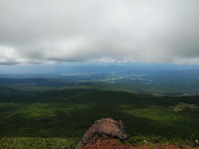縞枯山&茶臼山2020夏登山1
