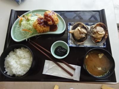 伊良湖岬と恋路ヶ浜、大アサリ焼きとフライ定食は絶品
