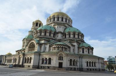 ブルガリア正教の総本山、アレクサンドル・ネフスキー寺院