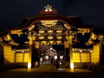 夏の終わりに「そうだ、京都行こう」①~京都水族館と二条城ライトアップ