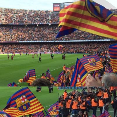スペインバルセロナ旅行⑧FCバルセロナvsアトレアチコマドリード