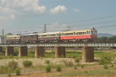 ことでん レトロ電車特別運行 2020年8月