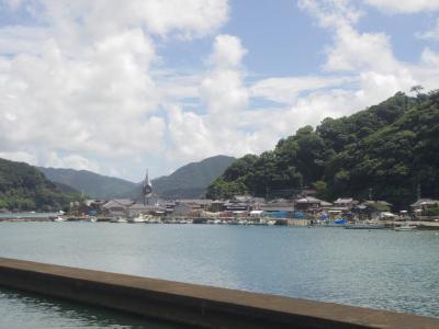 5・7歳連れ夏休み9泊10日、九州の島めぐり:天草編
