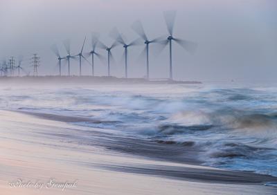 海霧のウィンド・ファーム ~風の表現を求めて~