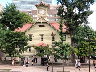 2020.08 8月は札幌市施設無料月間①…時計台、テレビ塔