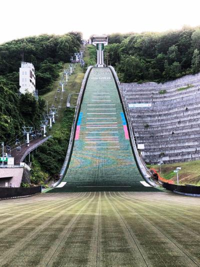 2020.08 8月は札幌市施設無料月間②…大倉山ジャンプ競技場