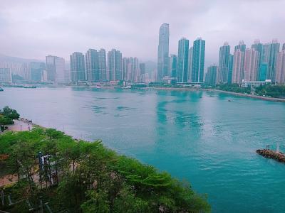 香港★飲茶のあと 青衣までお散歩 ~全記點心専門店~