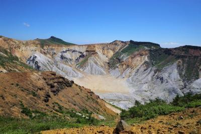 【登山】夏の安達太良山 圧倒的な火山風景(バス利用)