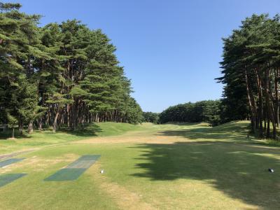 久しぶりの富谷、酷暑の中ゴルフ