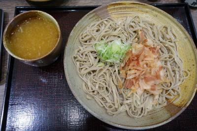 20200901-4 福井 駅前ビルハピリンの蕎麦屋さん、あみだそば福の井