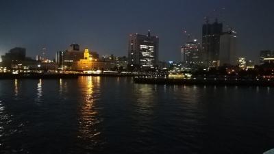 2019年関東遠征3日目(2019/3/16) 東海汽船旧さるびあ丸で行く東京湾ナイトクルーズの旅