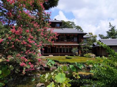 夏の終わりに「そうだ、京都行こう」②~旧三井家下鴨別邸と喫茶ソワレ
