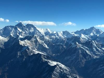 タイからヒマラヤを見にネパールへ