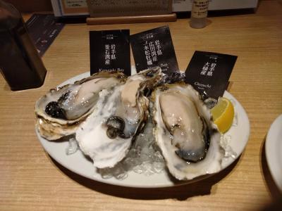 〇〇が食べたくて!~ラゾーナ川崎で生牡蠣&かき氷&桃編~