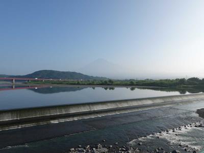 自転車でGO!早朝バージョン 2020.08.29 富士川をぐるっと
