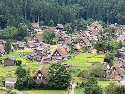 初めて真夏の富山へ2020!~(3)飛騨高山と白川郷へと岐阜県に遠征!