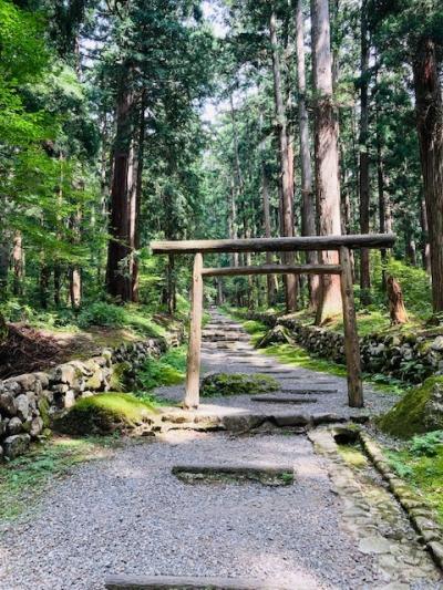 初めて真夏の富山へ2020!~(4)最終日は福井・石川に遠征、白山神社を回りました!