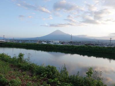 自転車でGO!早朝バージョン 2020.09.02 富士市内をウロウロ…