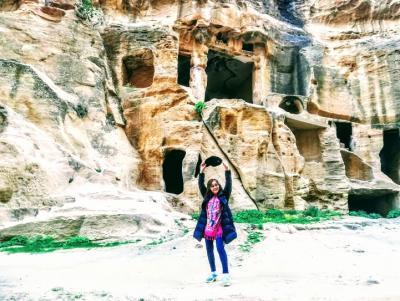 ヨルダン・イスラエルの旅 第10日目 ② カザリ峡谷→ナッセーン・アレー砂丘→リトル・ペトラ