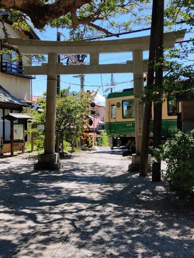 江ノ電撮影スポット散歩(長谷駅から鎌倉駅)
