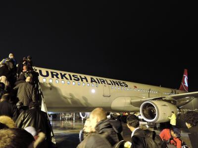 2017年 ナイル川南下とエチオピアの砂漠-B(トルコ編)/イスタンブール空港経由