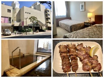またまたぶらり甲府一人旅はお得意のホテル談露館 暑くて観光出来ず・・・