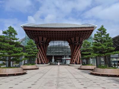 【富山、石川、福井】ANAトクたびマイルで夏の北陸周遊(金沢、東尋坊、富山)