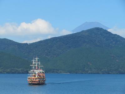 箱根でのんびり(5)箱根ホテルで過ごす休日 with 芦ノ湖&富士山