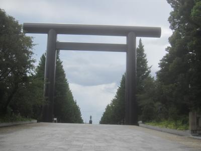おでかけついでの北の丸公園散策&靖国神社参拝