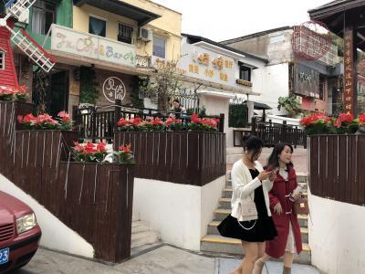 珠海香洲で珈琲街道を歩く、帰国後はコロナ対応