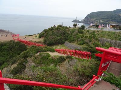 山口県の日本海を横断!海と絶景は曇りでも色褪せない