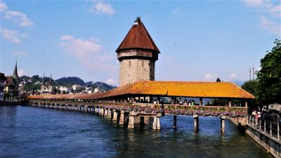 スイス 鉄道でぐるっと17日間(14) ルツェルン散歩