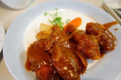 20200907-2 金沢 洋食の店Cookのチキンポロネーズ