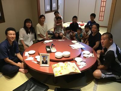 中華料理「光華園」で家族全員で親父の命日を忍んで食事会を
