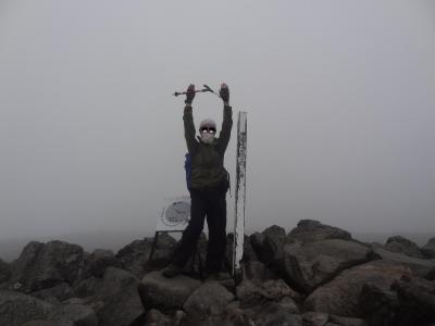 青春18きっぷで避暑登山旅・その2.月例登山報告/蓼科山。