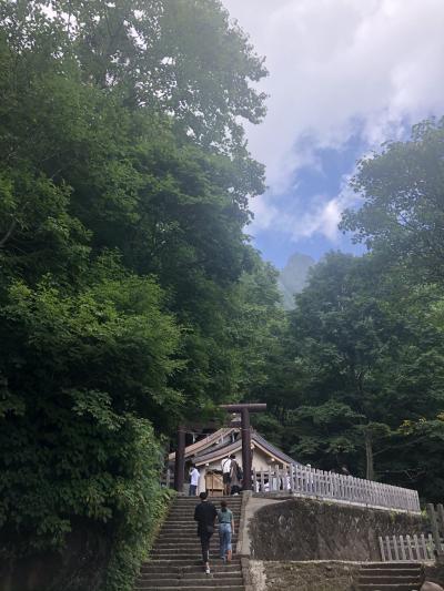 青木湖でSUP&歩いて戸隠神社奥社へ