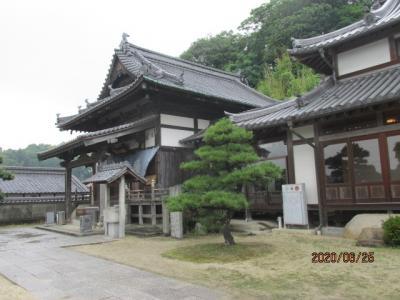 愛媛(伊予一国)ドライブ巡礼(59)四国霊場第五十六番泰山寺へ参拝。